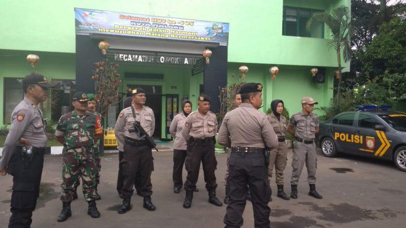 TNI Polri Tak Kenal Lelah Amankan Wilayah Kota Malang