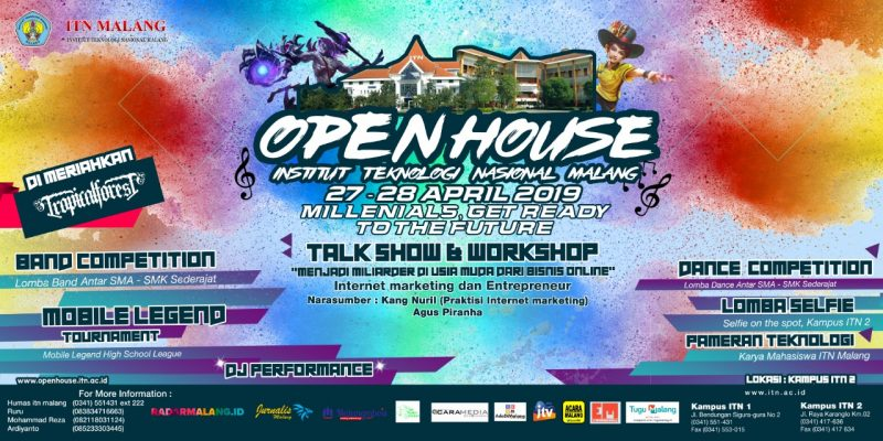 Open House ITN Malang