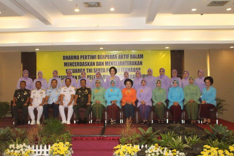 Pangdam V/Brawijaya dan Dandim 0833 Hadiri Tasyakuran HUT Ke-55 Dharma Pertiwi Th. 2019