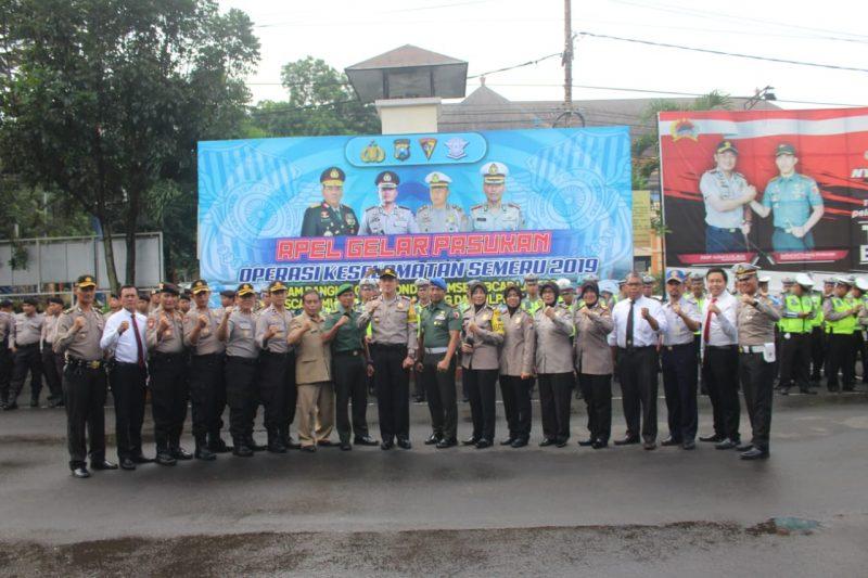 TNI Polri Persiapkan Apel Gelar Pasukan Operasi Keselamatan Semeru 2019 di Kota Malang