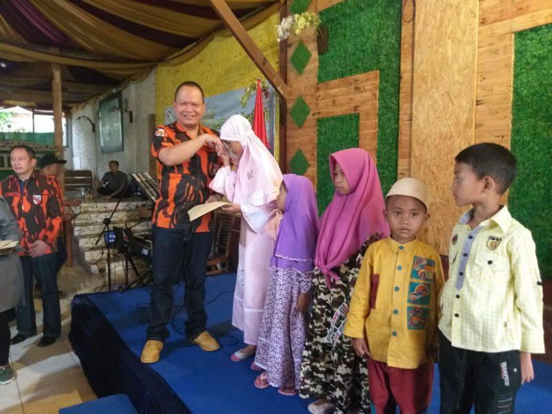 MPC PP Kota Batu Santuni Anak Yatim dan Janda Dhuafa