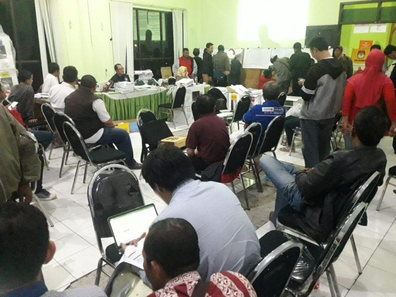 Kodim 0833 Kota Malang Terjunkan Babinsa Untuk Amankan Rekapitulasi Penghitungan dari PPK Hingga KPU