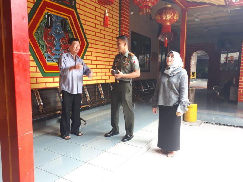 Dandim 0833/Kota Malang Silaturahmi Ke Klenteng Eng Ang Kiong