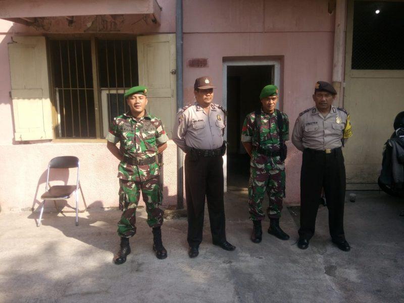 Polres Malang Kota dan Kodim 0833 Kota Malang Terus Bersinergi Amankan Gudang KPU Kota Malang