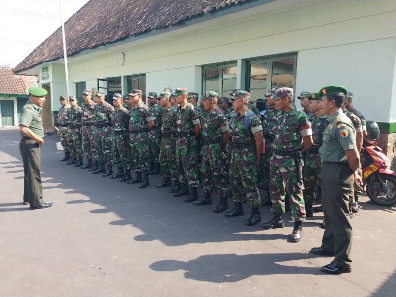 46 Anggota baru (Pull), Terima pengarahan di Kodim 0833/Kota Malang