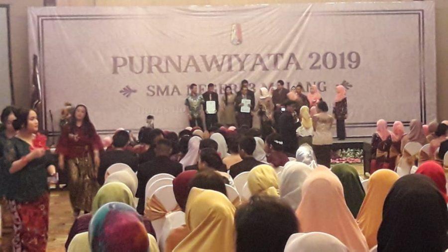 Danramil 0833/03 Blimbing Berikan Wejangan Pada Purnawiyata 2019 SMAN 3 Kota Malang