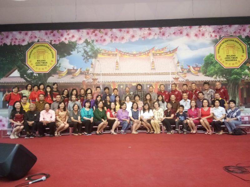 Peduli Dengan Sosial dan Budaya, GKI Tumapel Malang Kunjungi Kelenteng Eng An Kiong