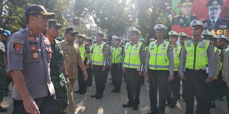 Kapolres Malang Kota Pimpin Gelar Pasukan Operasi Ketupat 2019, Jamin Keamanan dan Kenyamanan Warga