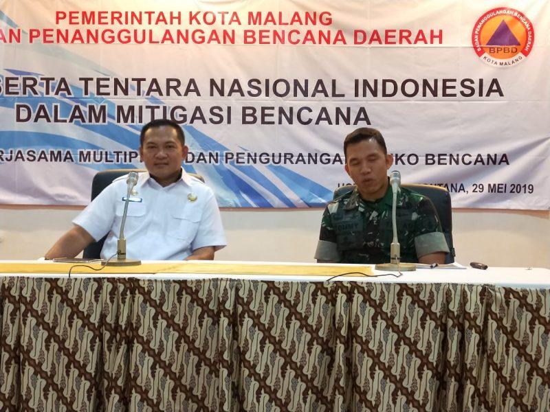 TNI Siap Ambil Peran Dalam Mitigasi Bencana