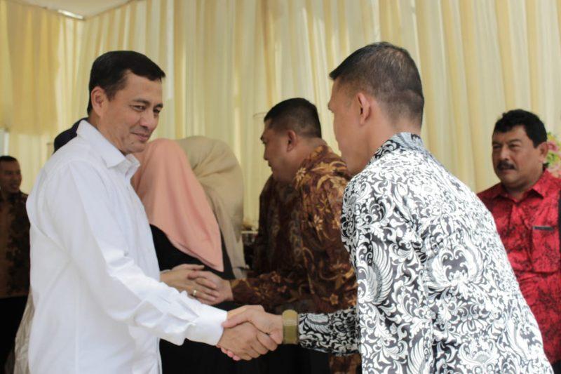 Dandim Hadiri Open House Wakasad Di Malang