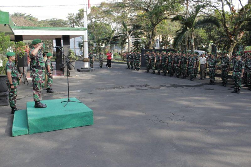 Kodim 0833 Kota Malang Gelar Latihan Gladi Posko 1 Baladhika Siaga XIX Bantu Polri dan Pemda