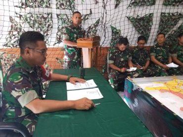 KPU Kota Malang Merasa Aman, Kodim 0833 Gelar Gladi Posko 1
