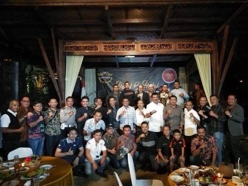 Dandim 0833 dan Kapolres Malang Kota  Hadiri Halal Bihalal keluarga Besar HDCI Malang 2019