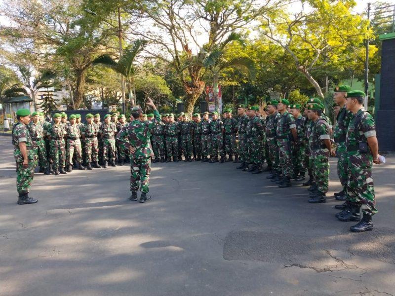 Tim Permildas dari Kodiklat TNI AD Kunjungi Kodim 0833/Kota Malang