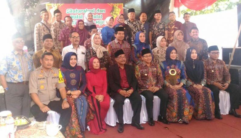 Danramil Blimbing Hadiri Silaturahmi dan Halal Bihalal DPRD Kota Malang Bersama Forkopimda