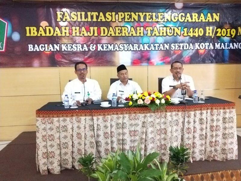 Kodim 0833 Dukung Rakor Menjelang Kepulangan Jamaah Haji Kota Malang