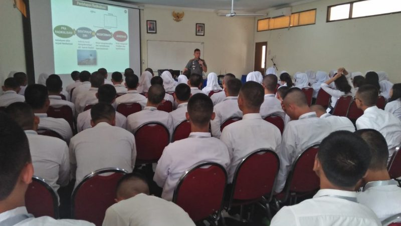 Komandan Kodim 0833 Kota Malang Berikan Wawasan Kebangsaan Kepada CPNS