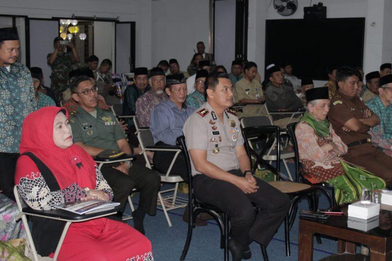 TNI Polri Hadiri Halal Bihalal Pengurus MUI Kota Bersama Ormas Islam, Pondok Pesantren dan Umaro' Kota Malang