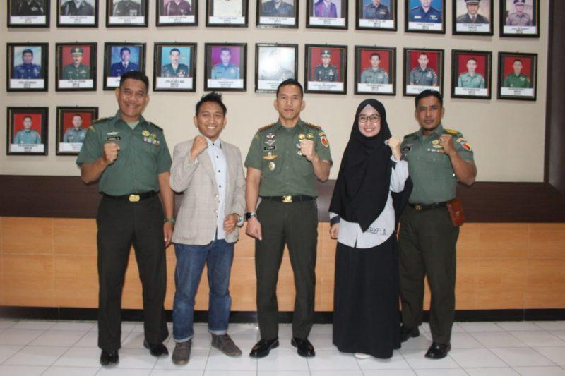 YDSF Malang Kunjungi Kodim 0833 Kota Malang