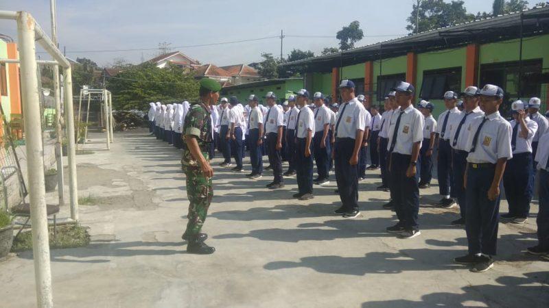 Pentingnya Pembekalan PBB SMP Insan Permata Malang dari Koramil 0833/05