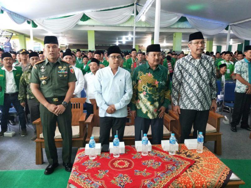 Dandim 0833 Menghadiri Konferensi Wilayah XIV Gerakan Pemuda Ansor Jawa Timur