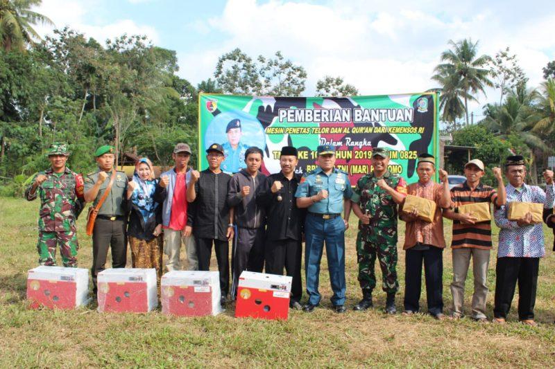 Tim Wasev Mabes TNI Kunjungi Lokasi TMMD 105 Banyuwangi