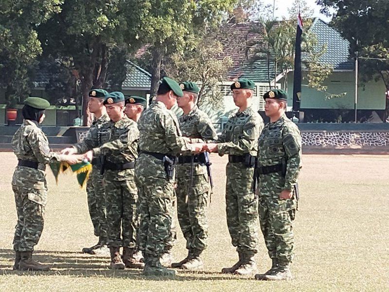 Panglima Divisi pimpin Sertijab Danbrigif 18/SEY 2 Kostrad, Danbrigif Raider 9/DY dan Danmenarmed 1/PY/2 Kostrad