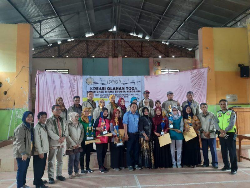 Lomba Toga Olahan KKN 03 -04 Unidha Malang Tingkatkan kesejahteraan dan Menghindari Urbanisasi