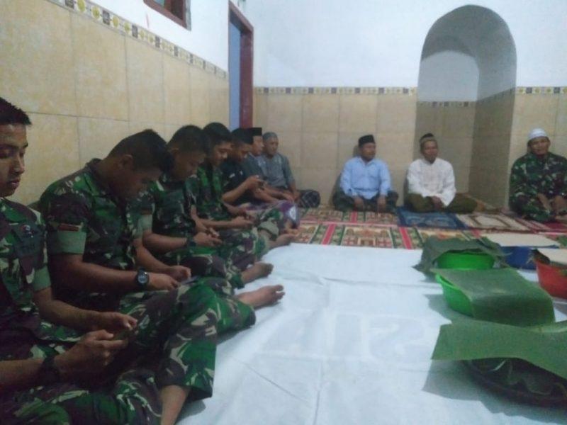 Tasyakuran Mushola Al- Amin Bersama Satgas TMMD Ke 105 Kodim 0825/Banyuwangi