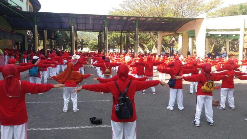 Gebyar Senam Tera se-Malang Raya & Pengukuhan Pengurus Ranting Kecamatan Kedungkandang