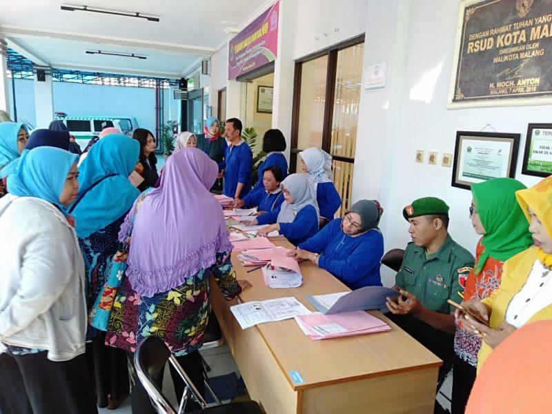 Kodim 0833/Kota Malang Menggelar Baksos KB – kesehatan Tahun 2019