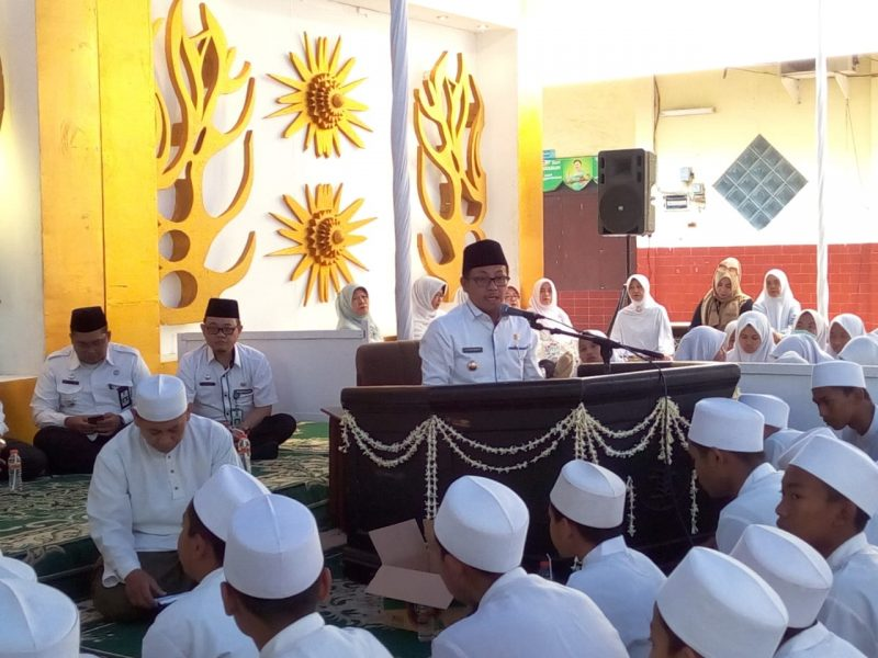 Danramil 0833/01 Klojen Hadiri Haul SMA Salahuddin Malang ke-54 Tahun 2019
