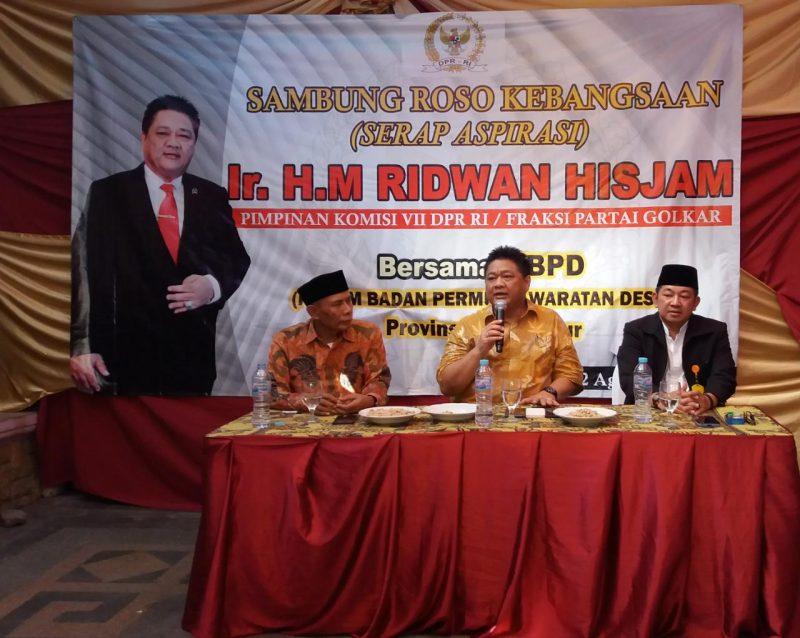 Acara FBPD, Komisaris Utama BUMD Jatim Dukung Ridwan Hisjam Jadi Ketua MPR
