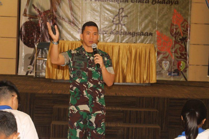Wawasan kebangsaan Universitas Katolik Widya Karya Malang Bersama Dandim 0833/Kota Malang