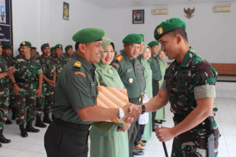 Dandim 0833 Pimpin Sertijab, Pelepasan dan Penerimaan Perwira Kodim 0833/Kota Malang
