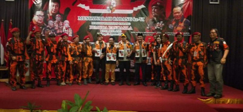 Dandim 0833 Hadiri Musyawarah Cab. VI Majelis Pimpinan Cabang Pemuda Pancasila Kota Malang