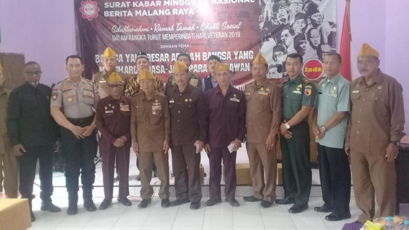 Hari Veteran 2019, Danramil 0833/03 Blimbing Ajak Wujudkan Kota Malang Kondusif