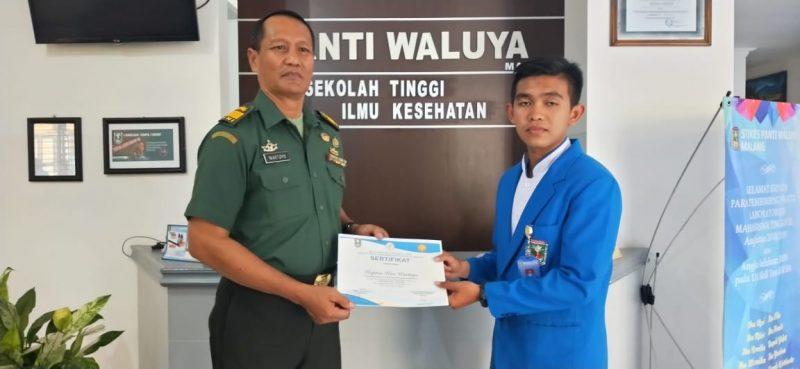 Pasiter Kodim 0833 Kota Malang, Berikan Wawasan Kebangsaan