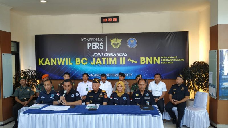 Bea Cukai dan BNN Malang Raya Selamatkan 2.300 Jiwa Generasi Muda