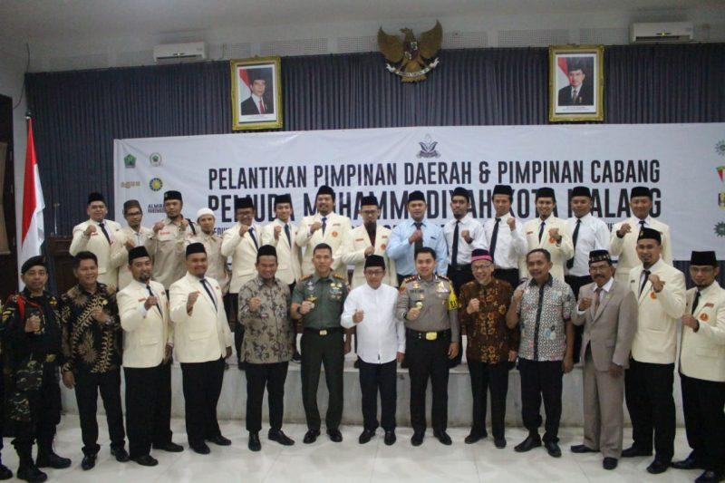 Pelantikan Pimpinan Daerah dan Pimpinan Cabang Pemuda Muhammadiyah Kota Malang Periode 2019-2023
