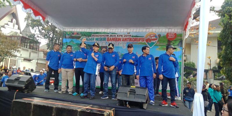 Walikota Malang dan Kodim 0833 Sepakat Bersama KPK Perangi Korupsi di Kota Malang