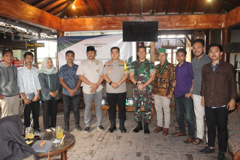 Kapolres Malang Kota Bersama Dandim 0833 Kota Malang Berikan Pemahaman Bahaya Radikalisme