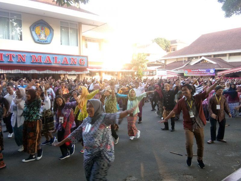 ITN Malang Digoyang Ribuan Mahasiswa Nusantara