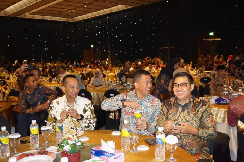 Dandim 0833/Kota Malang Hadiri Malam Kenal Pamit Kapolres Kota Batu