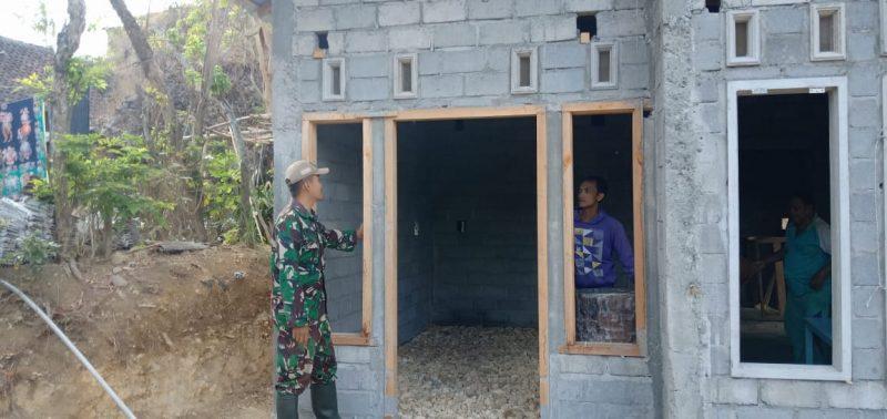 Satgas TMMD 106, Serang Rumah Warga Dusun Krajan