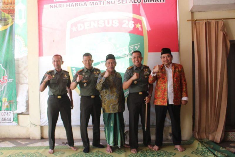 Bangun Sinergitas TNI Dengan Ponpes Sobilurrosyad