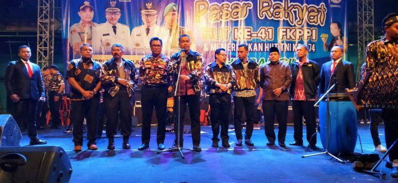 Dandim 0833 Apresiasi Pembukaan Pasar Rakyat HUT FKPPI Ke 41