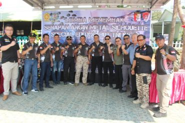 Peringati HUT TNI Ke 74, Divif 2 Kostrad Gelar Lomba Menembak Senapan Angin Metal Silhouette VSC 1.0 Special