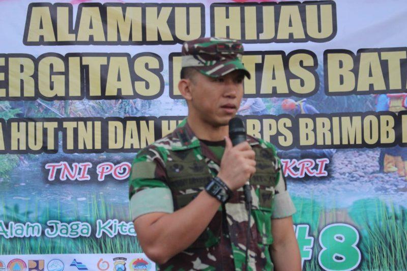 Alamku Hijau, Bentuk Partisipasi dan Kepedulian TNI Menjaga Alam