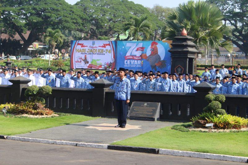 Dengan Semangat Nawa Bhakti Satya, Jawa Timur akan Maju dan Sejahtera